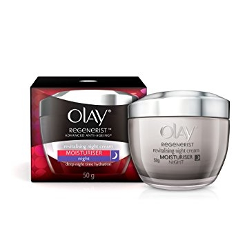 cismis Olay Regenerist Night Firming Cream - Night Cream for all Skin Types: 10 Best Night Creams Available In India