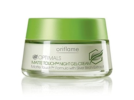 cismis Oriflame Optimals Matte Touch Night Gel Cream - Night Cream for all Skin Types: 10 Best Night Creams Available In India