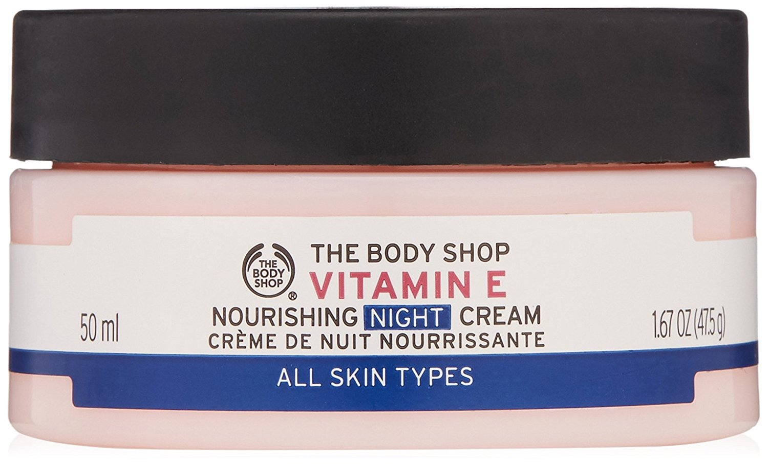 cismis The Body Shop Vitamin E Nourishing Night Cream - Night Cream for all Skin Types: 10 Best Night Creams Available In India