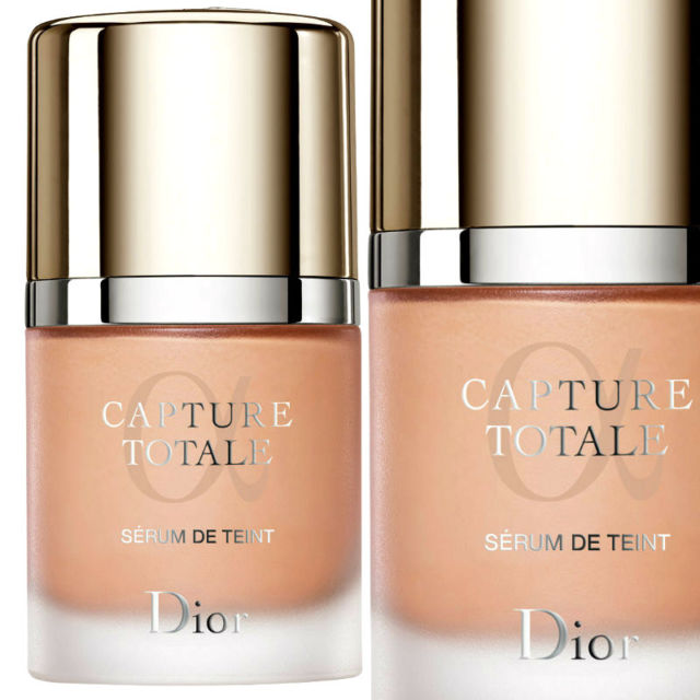 Dior Capture Totale Triple Correcting Serum Foundation for dry skin