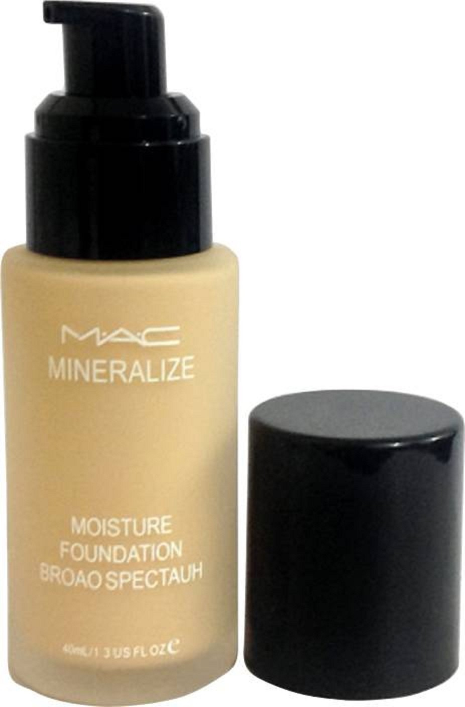 MAC Mineralize Satin Finish Foundation for dry skin