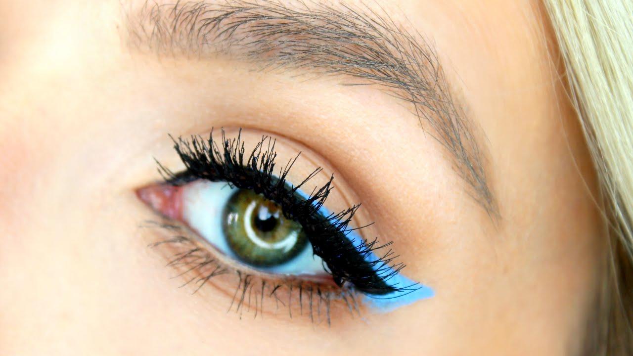 Trending blue Pop Color eyeliner