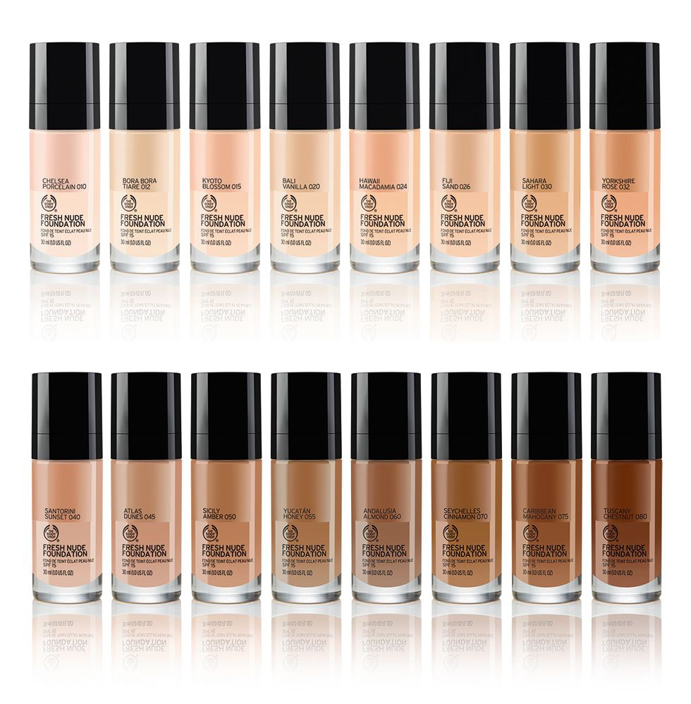 The Body Shop Moisture Foundation for dry skin