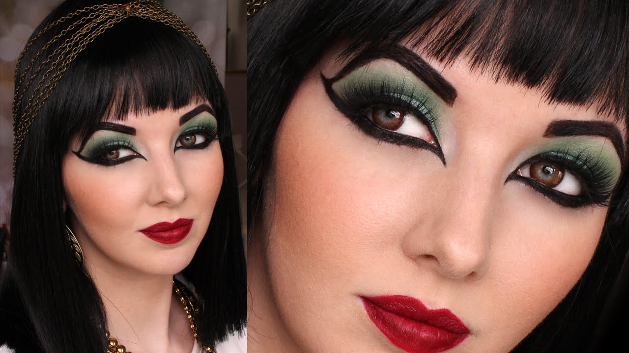 egyptian eyeliner - 10 Eyeliner Styles for Beginners - Step By Step Tutorial with Images