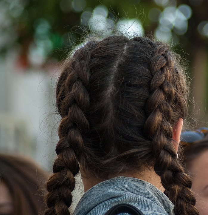 fish tail braids - Trending Top 10 Quick & Simple Hairstyles Perfect for Brunch Date