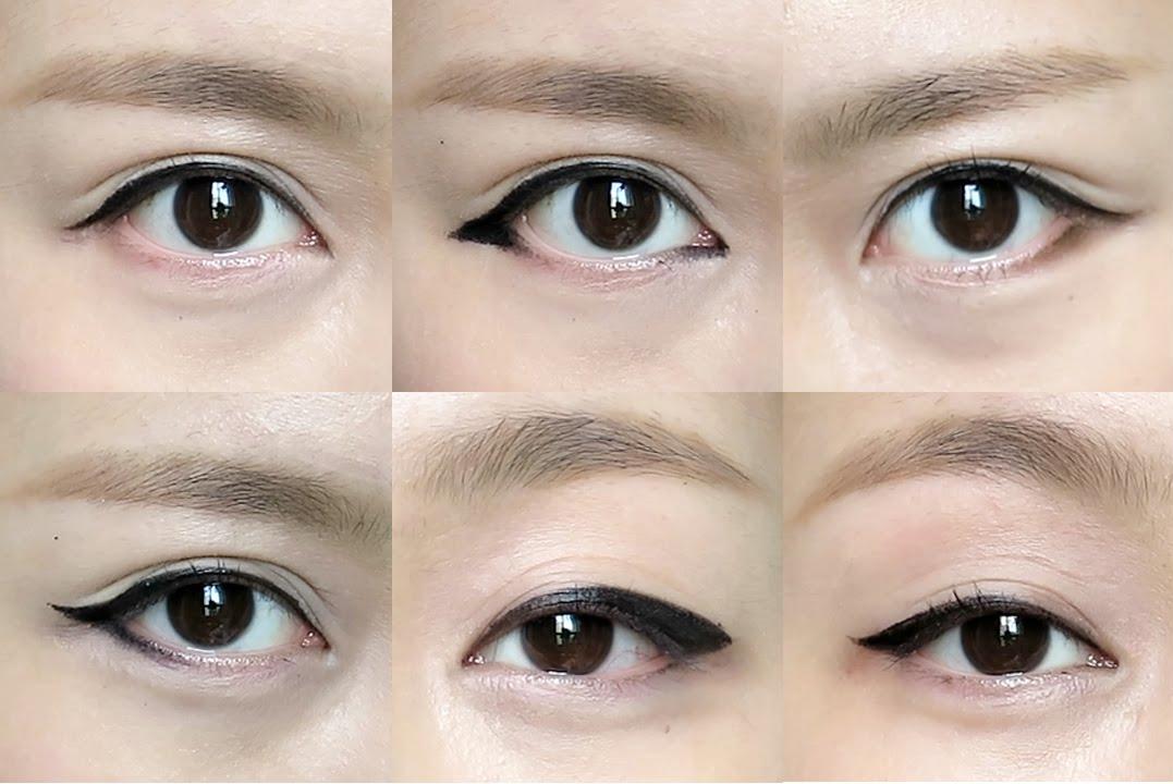 korean eyeliner - 10 Eyeliner Styles for Beginners - Step By Step Tutorial with Images
