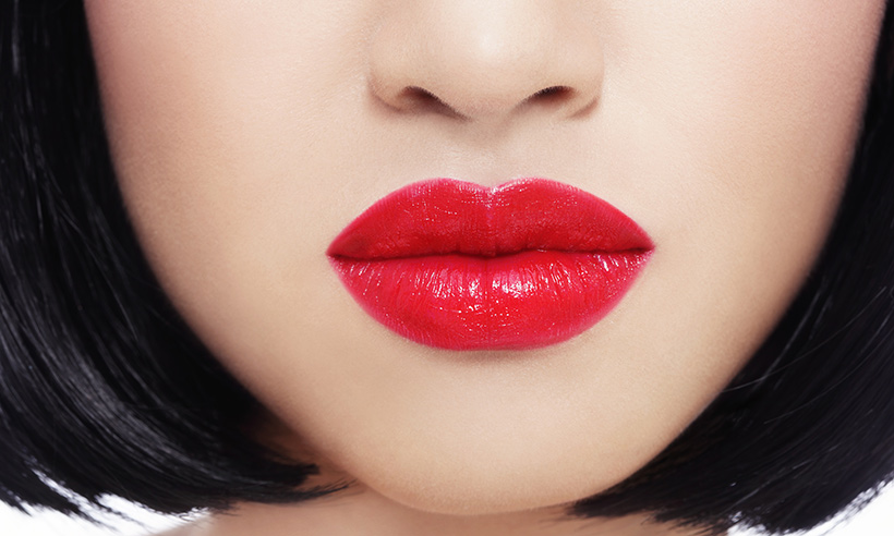 MAC Lipglass - Russian Red