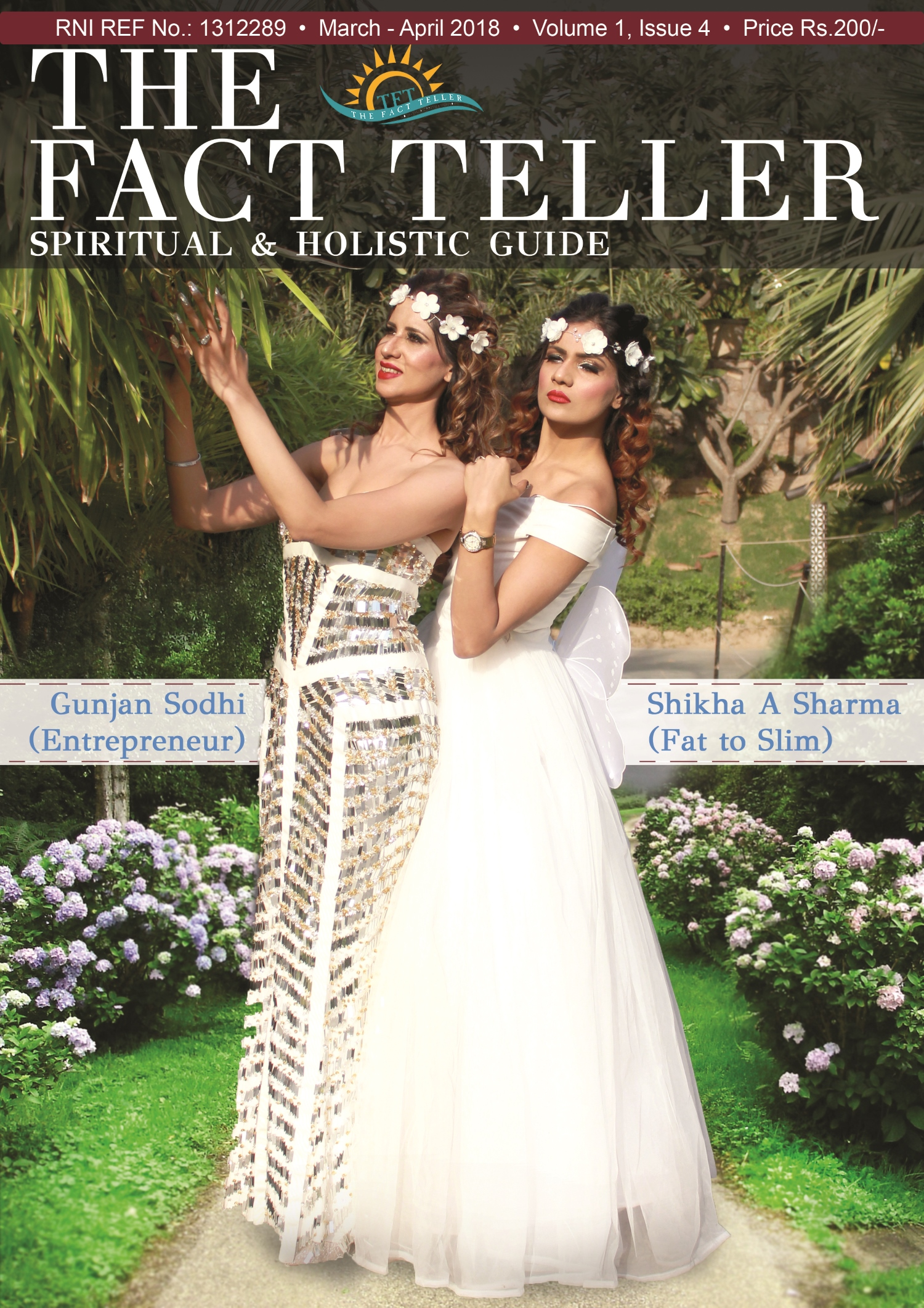 4 FINAL COVER TFT - National Summit on Holistic Sciences & Wellness followed by Karmic Awards 2018 - A Day for Peace & Knowledge by The Fact Teller Magazine
