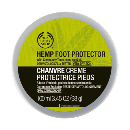 The Body Shop Hemp Foot Protector - 10 Best Foot Creams in 2018 for Dry, Cracked Heels Available in India with Review & Price
