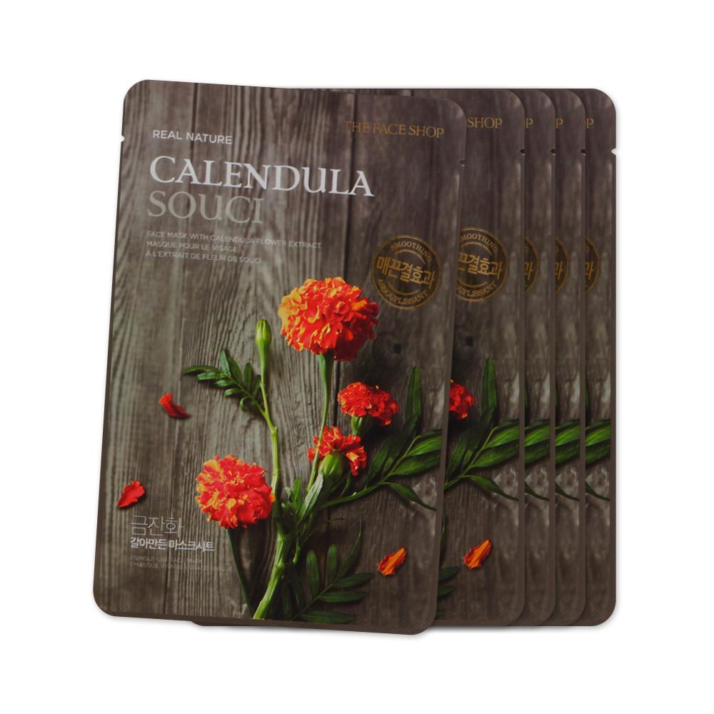 The Face Shop Real Nature Calendula Face Mask