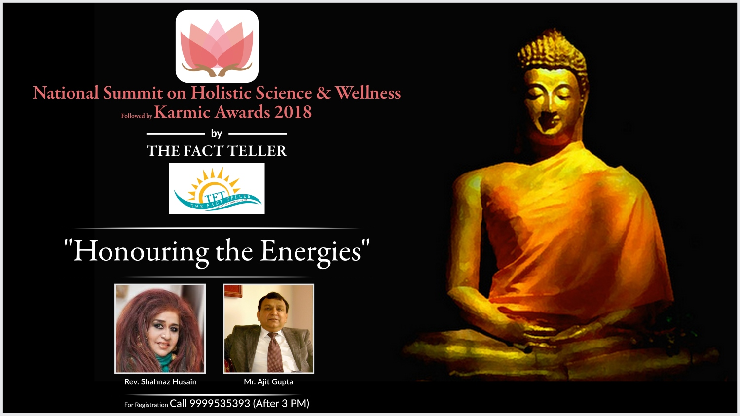 the fact teller magazine 1 - National Summit on Holistic Sciences & Wellness followed by Karmic Awards 2018 - A Day for Peace & Knowledge by The Fact Teller Magazine