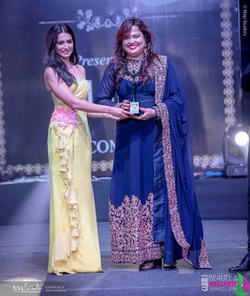 Babita Mohanty Best Makeup artist Bhubneshwara 355x420 - Glam Pro Beauty & Wellness Awards 2018 - Celebrity Presenter Actress Kriti Kharbanda and TV Superstar Manish Goel