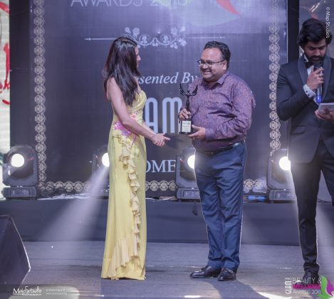 Bans Aerosol innovative cosmetics packaging 469x420 - Glam Pro Beauty & Wellness Awards 2018 - Celebrity Presenter Actress Kriti Kharbanda and TV Superstar Manish Goel
