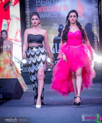 FB IMG 1538393479314 349x420 - Glam Pro Beauty & Wellness Awards 2018 - Celebrity Presenter Actress Kriti Kharbanda and TV Superstar Manish Goel