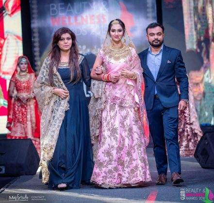 FB IMG 1538393755034 441x420 - Glam Pro Beauty & Wellness Awards 2018 - Celebrity Presenter Actress Kriti Kharbanda and TV Superstar Manish Goel