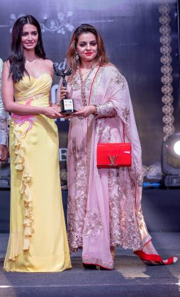 Galaxy his her Beauty salon Paschim vihar 254x420 - Glam Pro Beauty & Wellness Awards 2018 - Celebrity Presenter Actress Kriti Kharbanda and TV Superstar Manish Goel