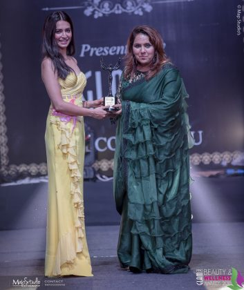 Jyoti Taneja Best Indian Bridal Makeup artist 353x420 - Glam Pro Beauty & Wellness Awards 2018 - Celebrity Presenter Actress Kriti Kharbanda and TV Superstar Manish Goel
