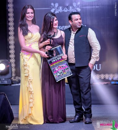 Mahima Gandhi 381x420 - Glam Pro Beauty & Wellness Awards 2018 - Celebrity Presenter Actress Kriti Kharbanda and TV Superstar Manish Goel