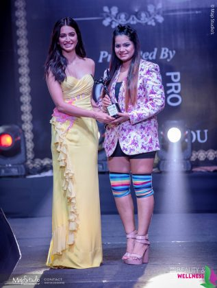 Prianca Saraswat Best Lifestyle influencer 2018 317x420 - Glam Pro Beauty & Wellness Awards 2018 - Celebrity Presenter Actress Kriti Kharbanda and TV Superstar Manish Goel