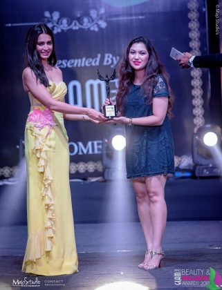 Suwellyn Sehgal Best Creative Artist 321x420 - Glam Pro Beauty & Wellness Awards 2018 - Celebrity Presenter Actress Kriti Kharbanda and TV Superstar Manish Goel