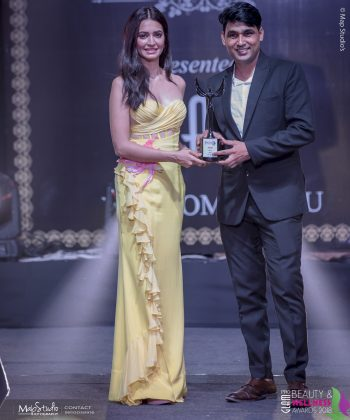 Vimal Best Designer South Delhi 350x420 - Glam Pro Beauty & Wellness Awards 2018 - Celebrity Presenter Actress Kriti Kharbanda and TV Superstar Manish Goel