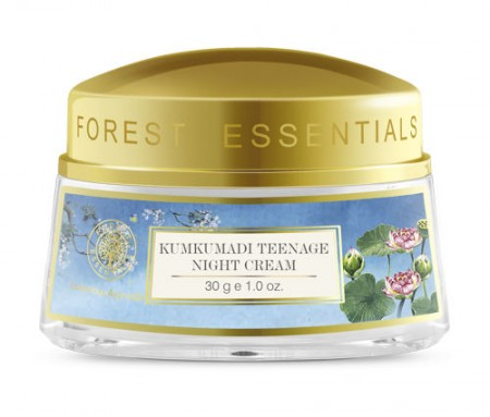 Forest Essentials Kumkumadi Teenage Night Cream - De-Tan & Remove Skin Pigmentation Instantly - Try these 14 Amazing Creams, Masks, Face Wash & Scrubs