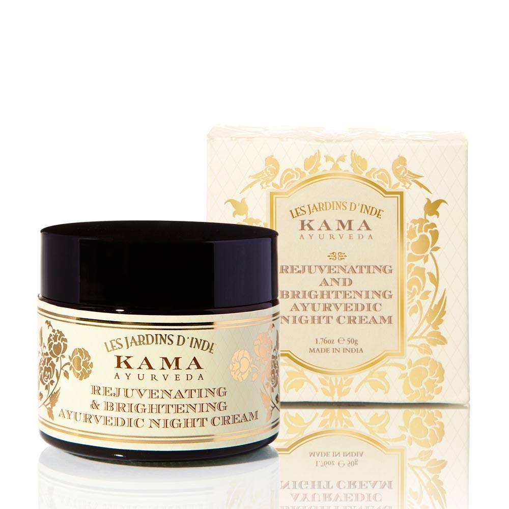 Kama Ayurveda Rejuvenating Brightening Ayurvedic Night Cream - De-Tan & Remove Skin Pigmentation Instantly - Try these 14 Amazing Creams, Masks, Face Wash & Scrubs