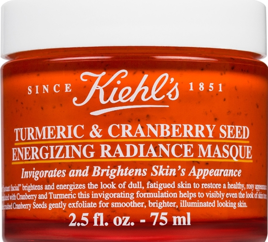Kiehls Turmeric Cranberry Seed Energizing Radiance Masque - Top 15 Picks from Nykaa Luxe Store - Best Skin Care Products for Anti-Aging, Fairness & De-Tan