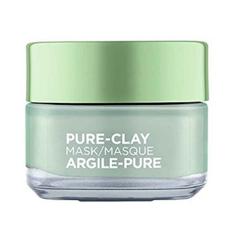 LOreal Paris Pure Clay Mask Purify Mattify - Oily Skin Care - 14 Best Moisturizers, Fairness Creams, Lotion & Gels for Oily Skin