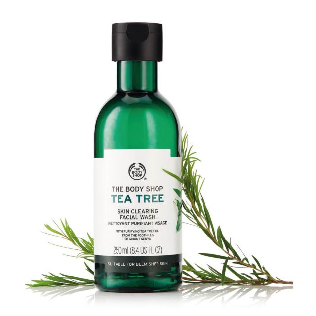The Body Shop Tea Tree Skin Clearing Facial Wash - Oily Skin Care - 14 Best Moisturizers, Fairness Creams, Lotion & Gels for Oily Skin